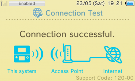 Connection Test Success