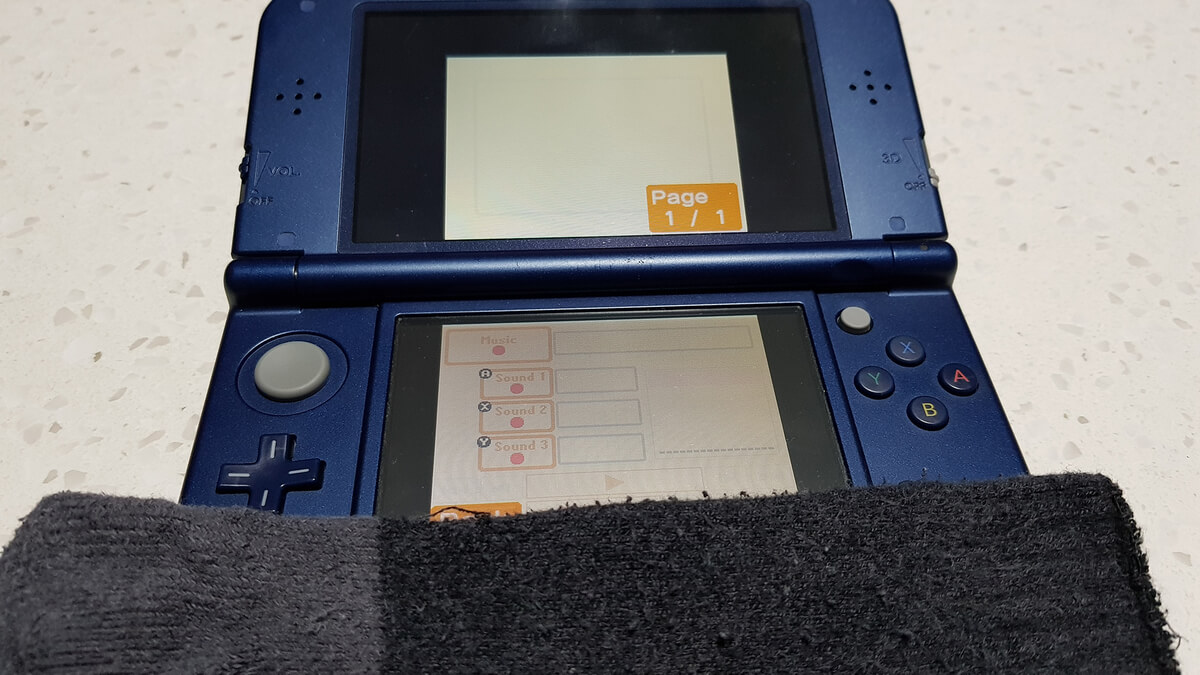 Sock on a 3DS