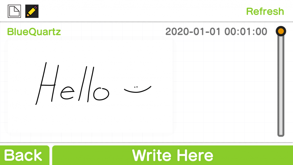 Hello Message in Sudomemo Chatroom