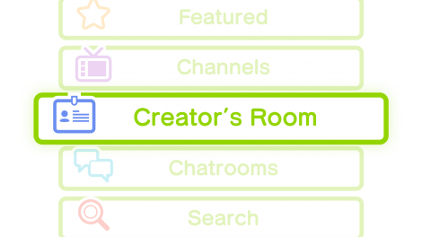 Sudomemo Creator's Room Button